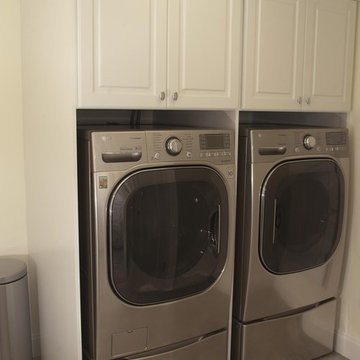 Laundry Room in Basement by DJ's Home Improvements