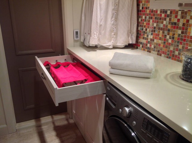 Beautiful Contemporary Laundry Room by Wow Great Place