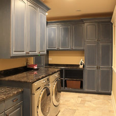 Traditional Laundry Room by J. Powless Fine Cabinetry