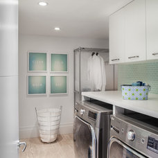 Contemporary Laundry Room by 2id Interiors