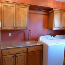 Traditional Laundry Room by KITCHEN CENTER THE