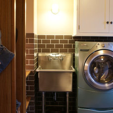 Eclectic Laundry Room by Lankford Design Group