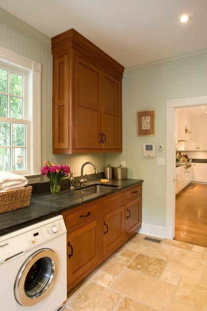 Traditional Laundry Room by Lasley Brahaney Architecture + Construction