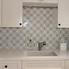 Traditional Laundry Room by Lauren Hannig