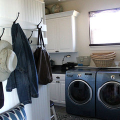 traditional laundry room by Laurie Jones - House to your Home