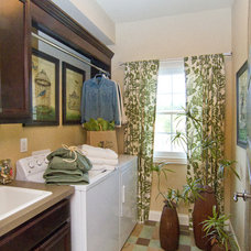 Traditional Laundry Room by Leslie Lewis & Associates