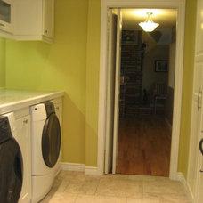 Modern Laundry Room Laundry Room Makeover (Ikea)