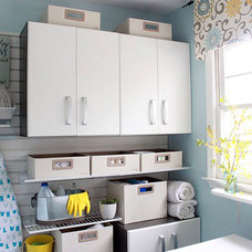Traditional Laundry Room by Brittany (aka Pretty Handy Girl)