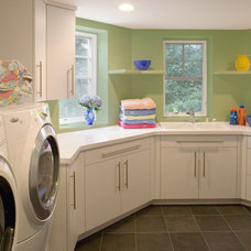 Contemporary Laundry Room by Melville Thomas Architects, Inc.
