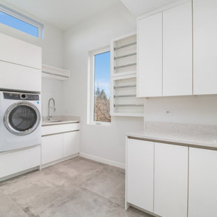 75 Beautiful Contemporary Laundry Room Pictures Ideas October 2020 Houzz