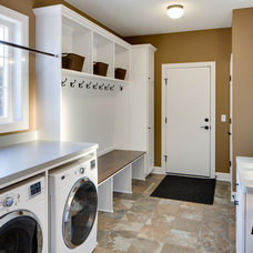 Traditional Laundry Room by Mark Teskey Architectural Photography