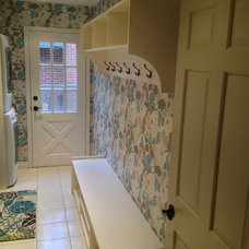 Traditional Laundry Room by Tim Bowdin Custom Furniture & Cabinetry