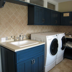 traditional laundry room by New Urban Home Builders