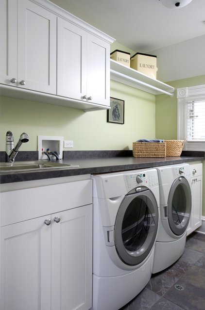 traditional laundry room by Normandy Remodeling