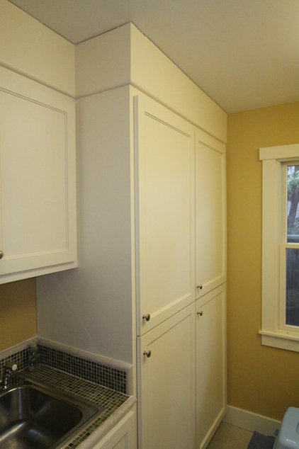 Craftsman Laundry Room by Nunley Custom Homes