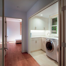 Traditional Laundry Room by Ohashi Design Studio