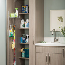Traditional Laundry Room by Closets & Blinds