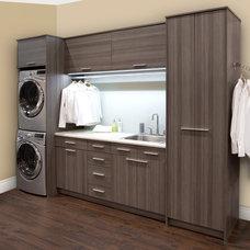 Contemporary Laundry Room by Organized Interiors