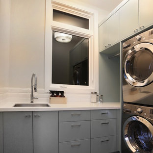 Laundry Room - Painted Lacquered with Custom Color