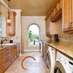 Case Design Remodeling Inc Traditional Laundry Room