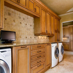 traditional laundry room by Palmer Todd