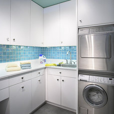 Contemporary Laundry Room by Pappas Design