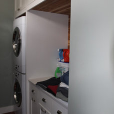 Traditional Laundry Room by Petrone construction