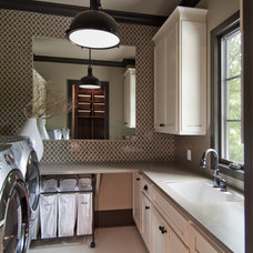 Traditional Laundry Room by Plattner Custom Builders, LLC