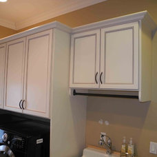 Traditional Laundry Room by All About Closets