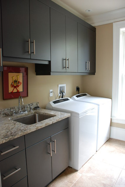 Modern Laundry Room by Priester's Custom Contracting, LLC