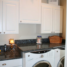 Traditional Laundry Room by Granite Connection, LLC