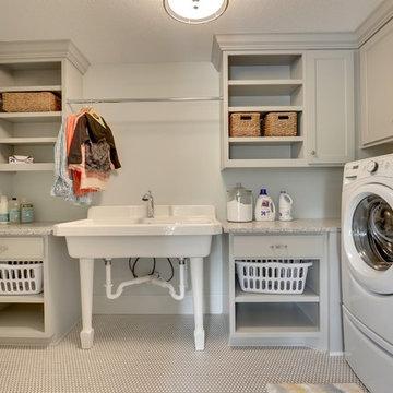 Laundry Room – Red Pine Farm – 2015 Model