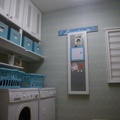traditional laundry room Laundry Room Redo