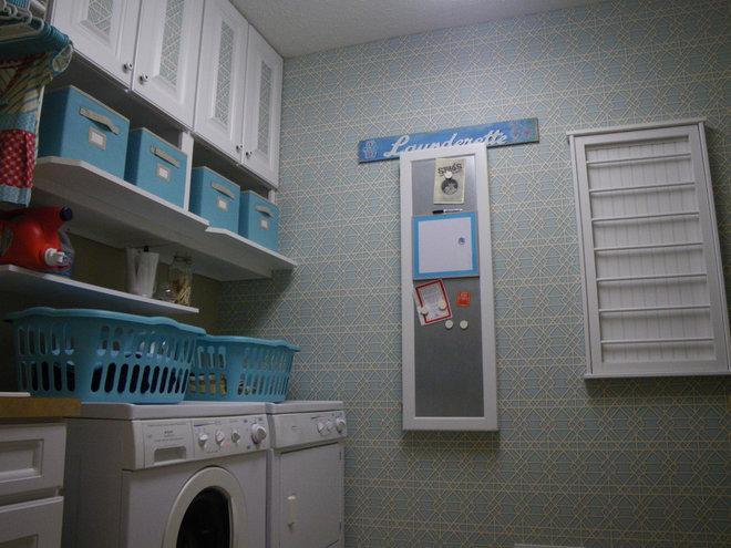 Traditional Laundry Room Laundry Room Redo