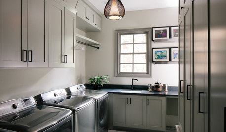 Room of the Day: A New Laundry and Mudroom Makes Mornings Better