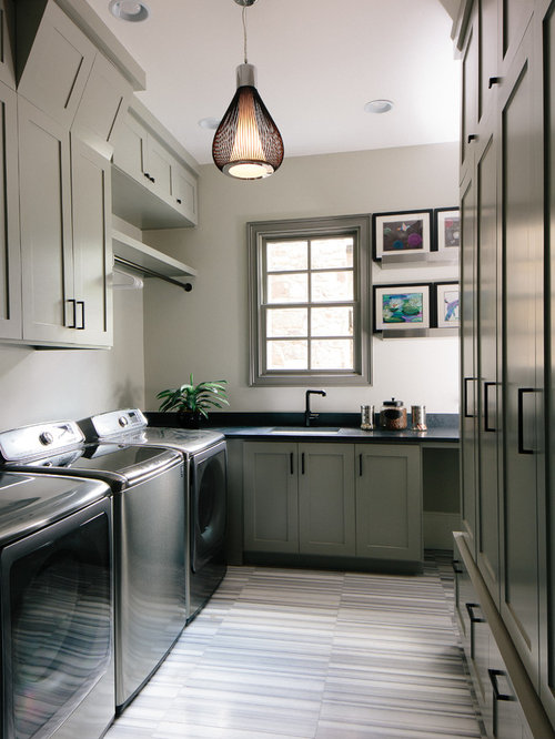 Modern Laundry Room Design Ideas Remodels Photos