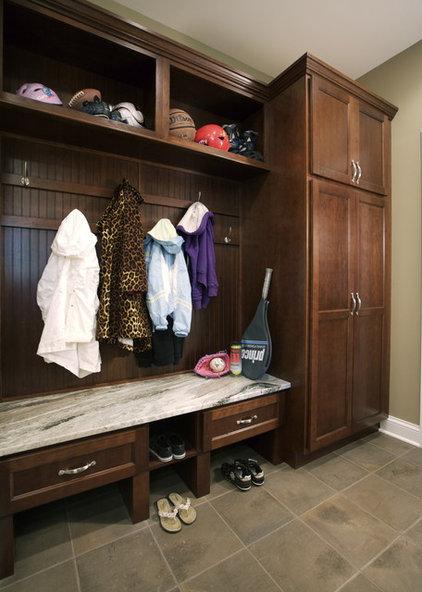 Eclectic Laundry Room by Susan Brunstrum of SWEET PEAS DESIGN INC