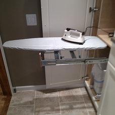 Transitional Laundry Room by Haffar Interiors, Inc.