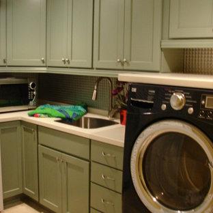 Ispirazione per una lavanderia tradizionale