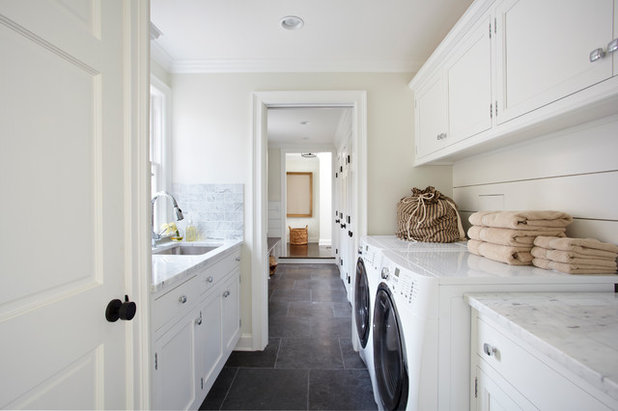 Traditional Utility Room by TR Design-Build Firm