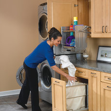 Traditional Laundry Room by Rev-A-Shelf LLC