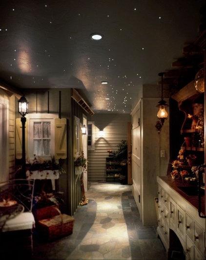 Eclectic Laundry Room by Rhonda Kieson Designs