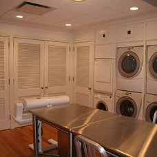 Traditional Laundry Room by Sarah Blank Design Studio