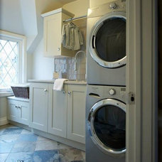 Traditional Laundry Room by Southport Cabinet Company