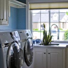 Modern Laundry Room by Stephanie Southwick