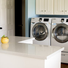 Modern Laundry Room by Stephanie Southwick