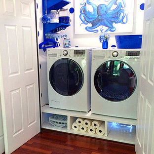 Laundry Room Storage & Organization Ideas with Pegboard