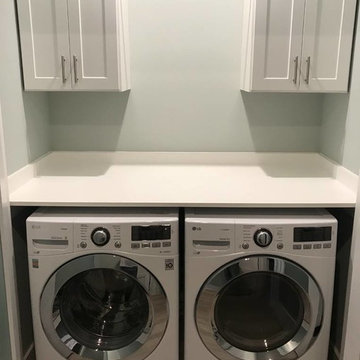 Laundry Room Storage Design