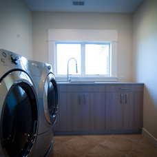 Contemporary Laundry Room by Woodways