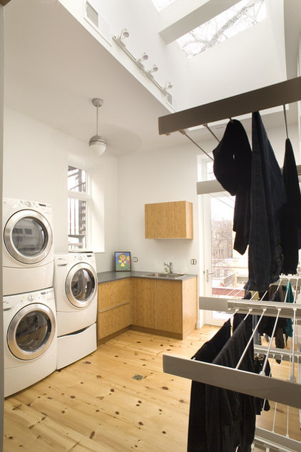 Contemporary Laundry Room by Sullivan, Goulette & Wilson Ltd. Architects